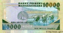 10000 Francs - 2000 Ariary MADAGASCAR  1988 P.74