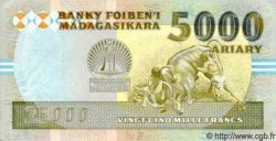 25000 Francs - 5000 Ariary MADAGASCAR  1993 P.74Aa pr.NEUF