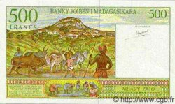 500 Francs/200 Ariary MADAGASCAR  1994 P.nlCAR NEUF