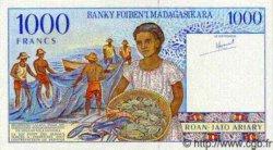 1000 Francs/200 Ariary MADAGASCAR  1994 P.nl NEUF
