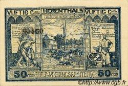 50 Centimes BELGIQUE  1915 P.-- SUP+