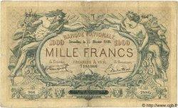 1000 Francs BELGIQUE  1919 P.014 TB+