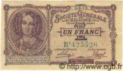 1 Franc Société Générale BELGIQUE  1918 P.021 pr.NEUF