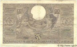 100 Francs - 20 Belgas BELGIQUE  1937 P.107 TTB