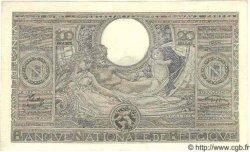 100 Francs= 20 Belgas BELGIQUE  1942 P.037 SUP