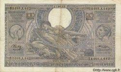 100 Francs - 20 Belgas BELGIQUE  1943 P.107 TB à TTB