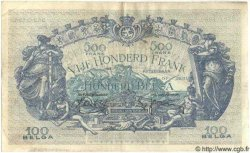 500 Francs= 100 Belgas BELGIQUE  1938 P.041 TTB