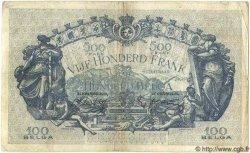 500 Francs= 100 Belgas BELGIQUE  1939 P.041 TB