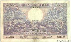 10000 Francs= 2000 Belgas BELGIQUE  1929 P.045 TTB