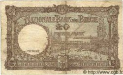 20 Francs BELGIQUE  1945 P.111 TB