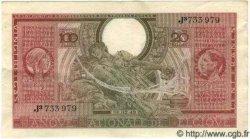 100 Francs = 20 Belgas BELGIQUE  1943 P.053 SUP