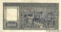 1000 Francs BELGIQUE  1945 P.062 TTB+