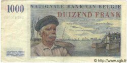 1000 Francs BELGIQUE  1950 P.063 TTB+