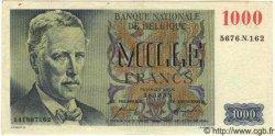 1000 Francs BELGIQUE  1955 P.063 TTB