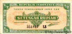 1/2 Rupiah INDONÉSIE  1945 P.016 TTB