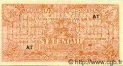1/2 Rupiah INDONÉSIE  1947 P.025 NEUF