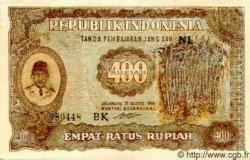 400 Rupiah INDONÉSIE  1948 P.035a SUP+