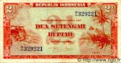 2.5 Rupiah INDONÉSIE  1951 P.039 TTB