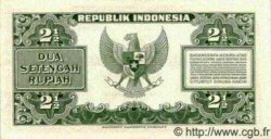 2.5 Rupiah INDONÉSIE  1953 P.041 pr.NEUF