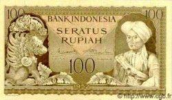 100 Rupiah INDONÉSIE  1952 P.046 pr.NEUF