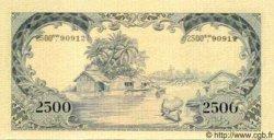 2500 Rupiah INDONÉSIE  1957 P.054a NEUF