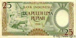 25 Rupiah INDONÉSIE  1958 P.057 NEUF