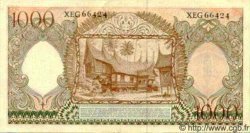 1000 Rupiah INDONÉSIE  1958 P.061 pr.NEUF
