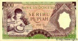 1000 Rupiah INDONÉSIE  1958 P.062 pr.NEUF