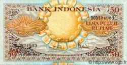 50 Rupiah INDONÉSIE  1959 P.068 TTB+