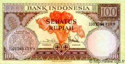 100 Rupiah INDONÉSIE  1959 P.069 NEUF