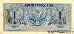 1 Rupiah INDONÉSIE  1954 P.072 SUP