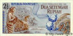 2.5 Rupiah INDONÉSIE  1961 P.079 NEUF