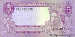5 Rupiah INDONÉSIE  1960 P.082a NEUF