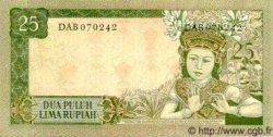 25 Rupiah INDONÉSIE  1960 P.084b NEUF