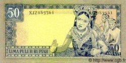 50 Rupiah INDONÉSIE  1960 P.085b NEUF