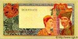 100 Rupiah INDONÉSIE  1960 P.086a