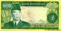 1000 Rupiah INDONÉSIE  1960 P.088b SPL