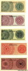 1, 5, 10, 25, 50 Sen INDONÉSIE  1964 P.090 à 94 NEUF