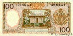 100 Rupiah INDONÉSIE  1964 P.097b pr.NEUF