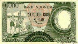 10000 Rupiah INDONÉSIE  1964 P.100 pr.NEUF