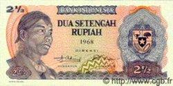 2.5 Rupiah INDONÉSIE  1968 P.103 pr.NEUF