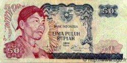 50 Rupiah INDONÉSIE  1968 P.107 TB+