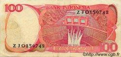 100 Rupiah INDONÉSIE  1984 P.122a TTB