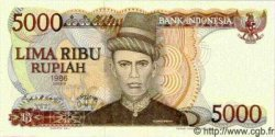 5000 Rupiah INDONÉSIE  1986 P.125 NEUF
