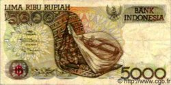 5000 Rupiah INDONÉSIE  1992 P.130 TB à TTB