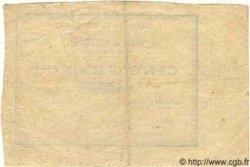5 Francs MARTINIQUE  1884 P.04 TTB