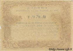 1 Franc MARTINIQUE  1870 P.05A TTB