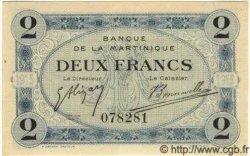 2 Francs MARTINIQUE  1915 P.11 pr.NEUF