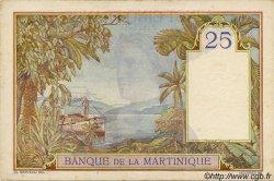 25 Francs MARTINIQUE  1938 P.12 TTB+