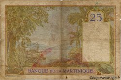 25 Francs MARTINIQUE  1945 P.12 B
